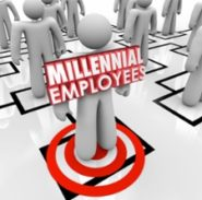 Millennial employee graphic