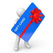 Gift card bow graphic